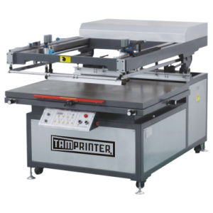 Tmp-70100 Oblique Arm Type Ce Flat Paper Card Screen Printing Machine pictures & photos