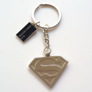 Promotional Gift -Superman Metal Key Chains Rings Customerized Design Keychain Keyrings pictures & photos