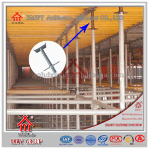 Scaffolding Accessories Adjustable Steel Seamless U Head Screw / Base Jack / Girder Brace Frame pictures & photos