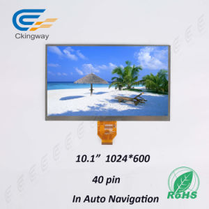 """10.1"""" Lvds Interface 60 Pin LCD Touch Screen pictures & photos"""