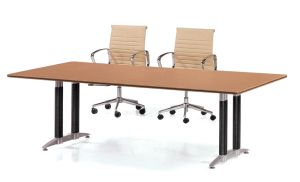 Steel Metal Base MFC Wooden Conference Table /Conference Desk (NS-NW291) pictures & photos