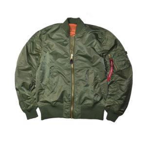 Wholesale Men′s 100% Nylon Pilot Bomber Jacket pictures & photos