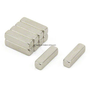 Small Rectangle Sintered Neodymium Permanent Magnet pictures & photos
