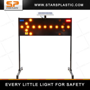 LED Solar Arrow Board Sign for Road Safety with Warranty pictures & photos