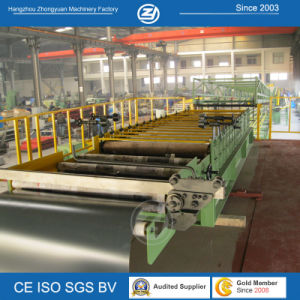 Polyurethane Sandwich Panel Roll Forming Machine pictures & photos