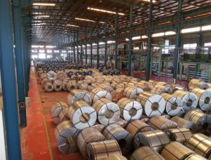 Prepainted Gi Steel Coil or PPGI or Color Coated Galvanized Steel Sheet Metal Standard Sheet Size in Coil pictures & photos