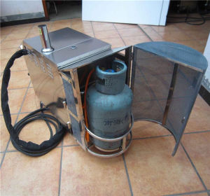 Wld1190 LPG Movable Steam Car Washing Machine pictures & photos