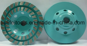 Abrasive Grinding Cup Wheel for Steel Base with Metal Segment
