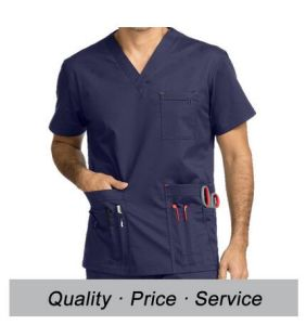 Custom Logo/Printing Hospital Scrub Top and Pants China pictures & photos