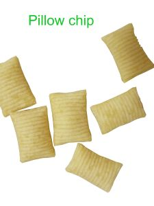 High Quality Pillow Chip Production Line with Extruder pictures & photos