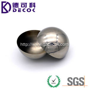 150mm 1mm Thickness Mirror Polished Stainless Steel Hemispheres pictures & photos
