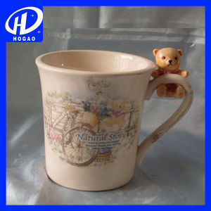 Creative Hand-Painted 3D Animal Cartoon Giraffe Mug Ceramic Home Coffee Mug Gift pictures & photos