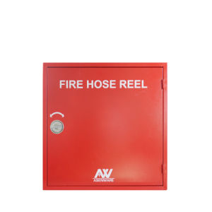 Fire Hose Reel Cabinet Red Color 1.2mm Thickness Metal Case pictures & photos