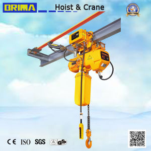 Brima Hot 1t Electric Chain Hoist with Hook pictures & photos