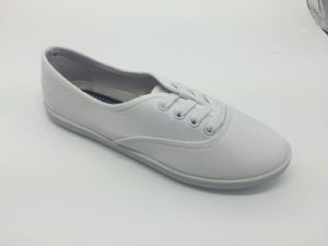 Hot Selling Fashion Injection Canvas Shoes