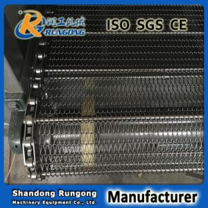 Metal Plate Conveyor Belt for Food, Heat Treatment Conveyor pictures & photos