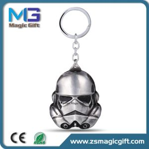 High Quality Customized Logo Blank Metal Star Keychain pictures & photos