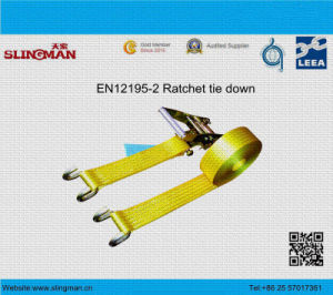 5t Ratchet Tie Down with Flat Hook