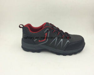 Fashion Designed Nubuck Leather Rubber Sole Safety Shoes Outdoor Shoes (16050) pictures & photos