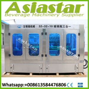 Complete Automatic Glass Bottle Filling Line for Beer Drinks pictures & photos