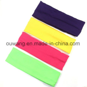 Wholesale Hair Accessories Colorful Cute Hair Bands Elastic Headbands pictures & photos