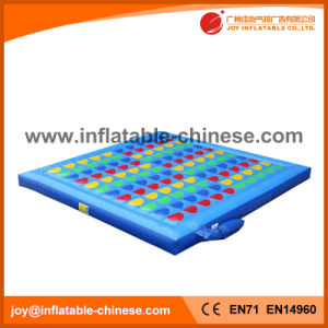 Inflatable Twister/Topsy-Turvy Game (T9-401) pictures & photos