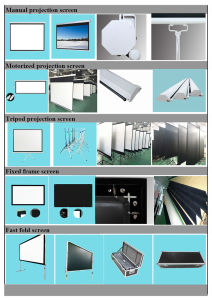 Factory Price of Projection Screen pictures & photos