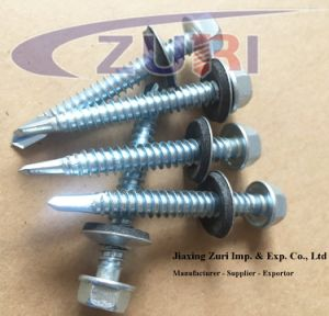 """Self Drilling Roofing Screw with EPDM Washer #12*5"""" pictures & photos"""