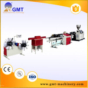 PE PP PVC Single-Wall Corrugated Plastic Pipe Machinery Line Extruder pictures & photos