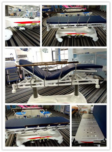 American Pump Transport Mattress X-ray Hydraulic Patient Stretcher (AG-HS001) pictures & photos