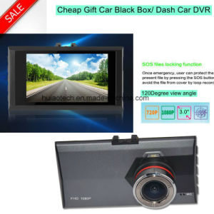 "Cheap Hot Sale 3.0"" HD Video Recorder Resolution HD1080p Car DVR with 1.3mega Car Digital Recorder Camera DVR-3044 pictures & photos"