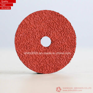 125*22mm P60, Zirconia & Aluminum Oxide Sanding Disc for Metal pictures & photos