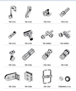 Stainless Steel Glass Clip Td-Ck2 pictures & photos