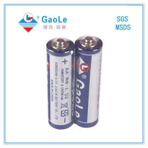 R6p 1.5V Mercury Free AA Battery Um-3 (2PCS/Shrink pack) pictures & photos