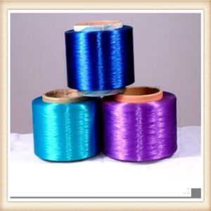 Polyester Dope Dyed Yarn pictures & photos