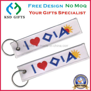 2016 Personalized Keyrings/Embroideryed Fashion Jewelry pictures & photos