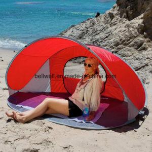 Wholesale Fiberglass Pole Pop up Sun Shelter Shade Beach Tent pictures & photos