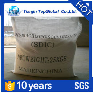 CAS No 2893-78-9 pool chemicals SDIC 56% granular pictures & photos