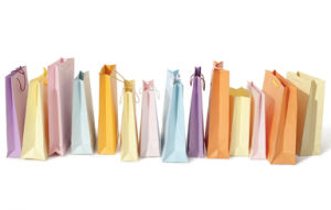 Colors Cusotm Shopping Bag Gift Paper Bag Printing pictures & photos