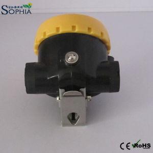 New 2200mAh Li-ion LED Helmet Lamp Waterproof