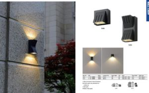 3-6W Aluminum Fashion Waterproof Outdoor LED Garden Wall Light pictures & photos