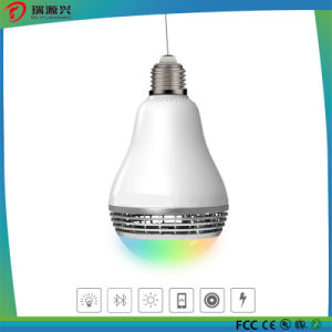 New Smart LED Lamp with Bluetooth Speaker pictures & photos