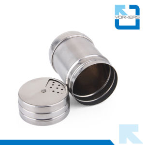 Multi-Size Stainless Steel Storage Bottle Storage Pot Toothpick Holder pictures & photos
