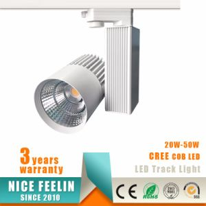 30W CREE LED COB Track Light 15/24/38/60deg for Shops Lighting pictures & photos