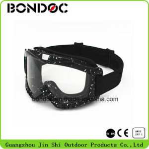 Motocross Goggle with Water Transfer Printing (JS-6012) pictures & photos