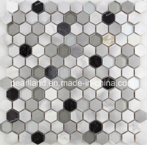 Factory Price Cheap Aluminum Mix Glass Mosaic for Building Material pictures & photos