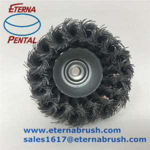 Round Wire Brush for Polishing Rust pictures & photos
