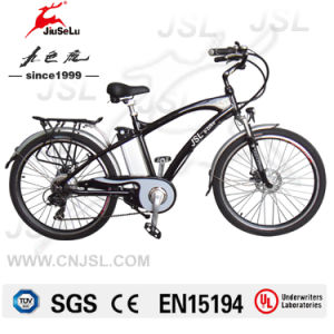 250W Suspension Fork Brushless Motor 36V Mountain E Bicycle (JSL037A-6) pictures & photos