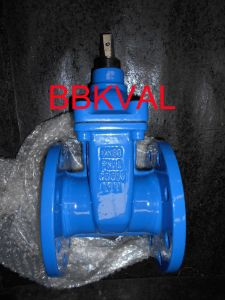 Cast Iron Resilient Gate Valve Non-Rising Stem with Handwheel pictures & photos
