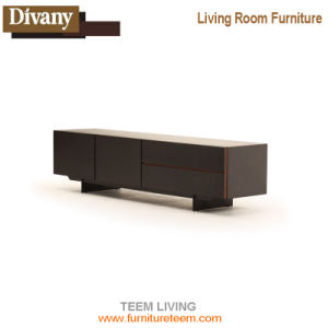 Living Room White TV Cabinet with MDF Board pictures & photos